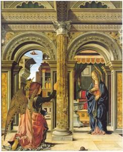 L'Annonciation Francesco del Cossa