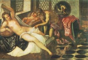 Mars et Vénus surpris par Vulcain Tintoret