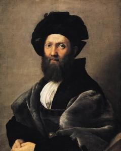 Portrait de Balthazar Castiglione Raphael
