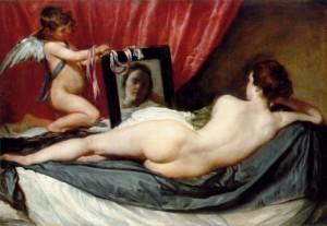 Vénus au miroir Diego Velasquez