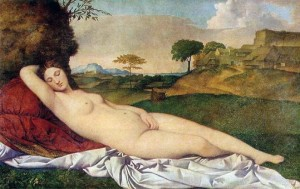 Vénus endormie Giogione