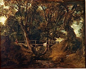 Vallon dans le parc de Helmingham Constable