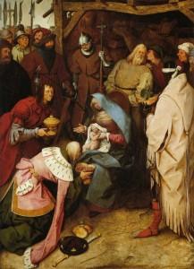 L'adoration des mages Bruehel l'ancien