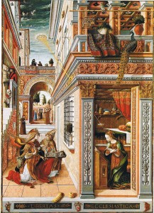 annonciation carlo crivelli