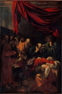 la mort de la vierge Caravage