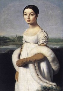 mademoiselle rivière ingres