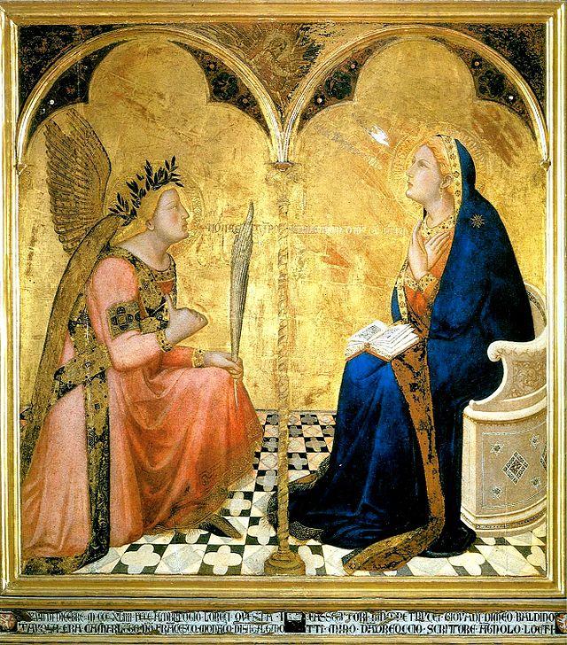 Annonciation Lorenzetti