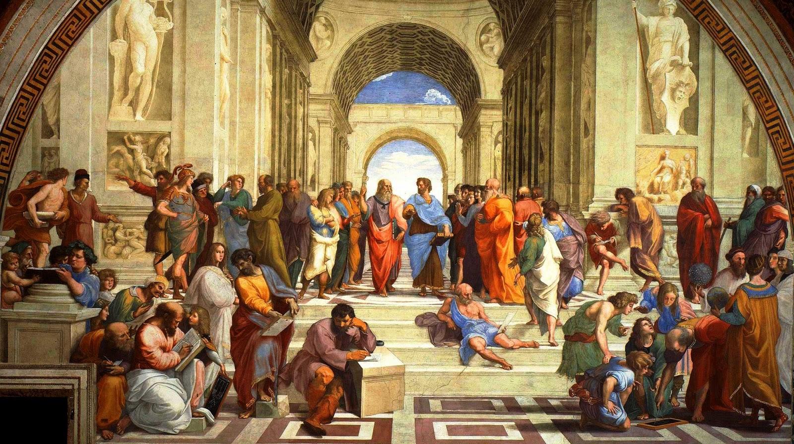 Ecole d'Athènes Raphael