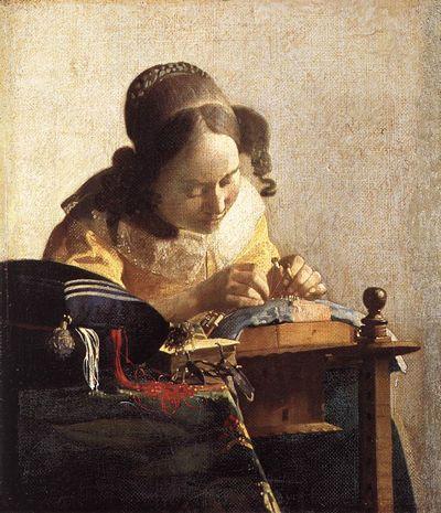 La Dentellière Vermeer