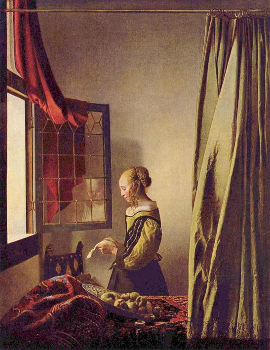 La Liseuse Vermeer