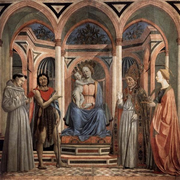 Retable de Santa Lucia dei Magnoli, Domenico Veneziano