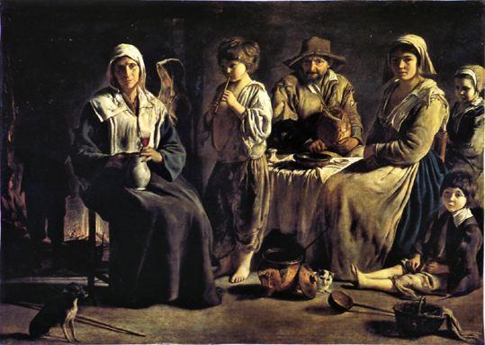 Famille de paysan, Louis le Nain
