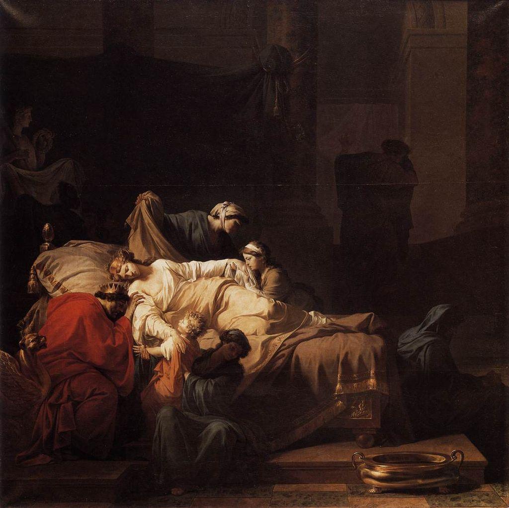 La mort d'Alceste ou l'Héroïsme conjugal, Peyron