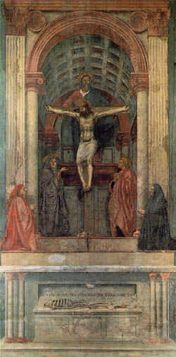 La sainte trinité masaccio