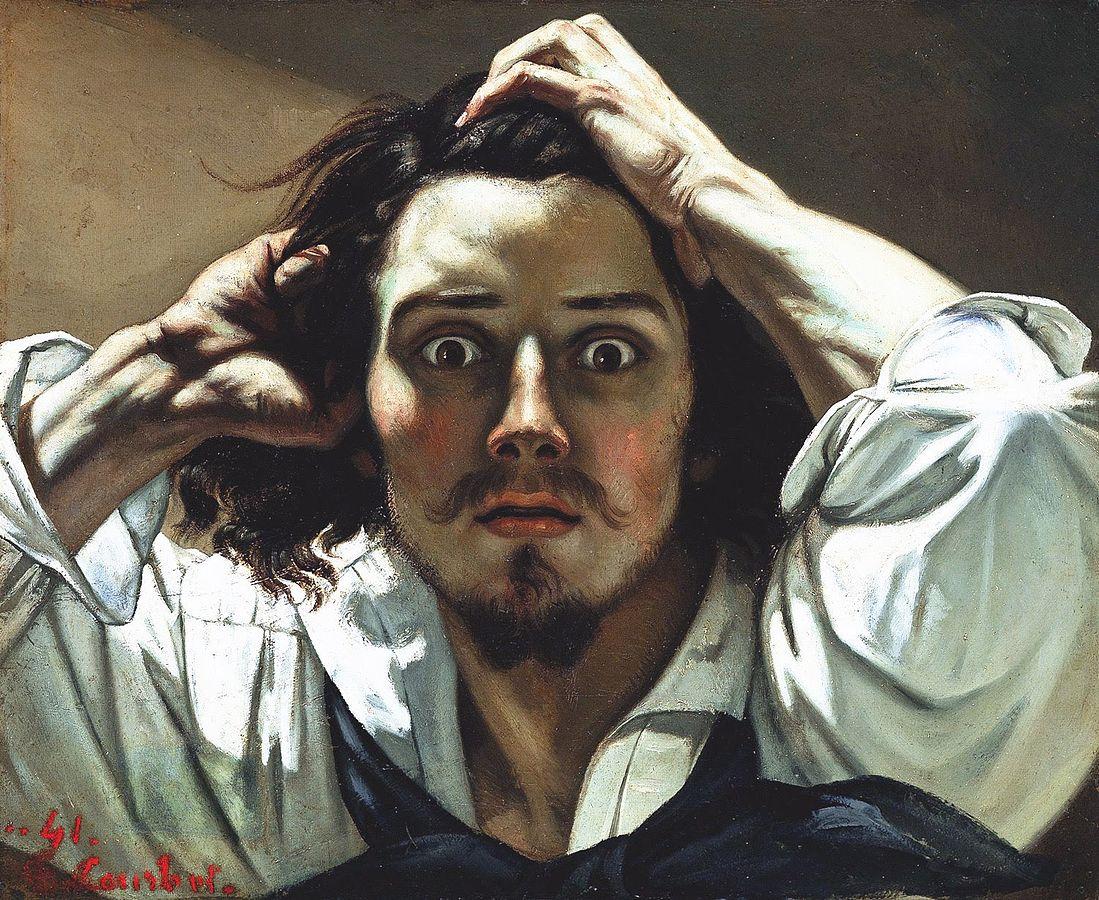 Le Désespéré, Courbet