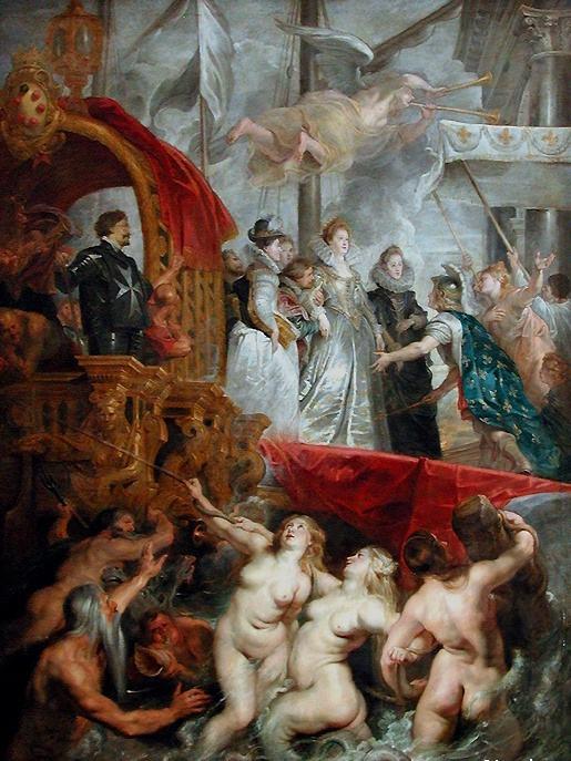 Le débarquement de Marie de Médicis au port de Marseille, Rubens