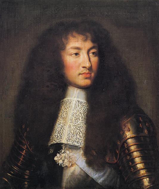 Portrait de Louis XIV, Charles le Brun