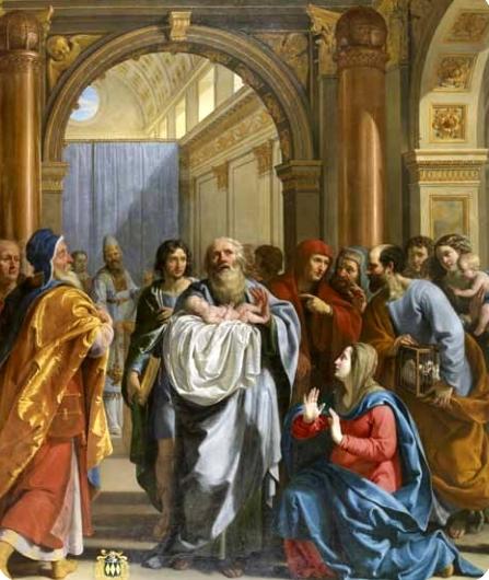 Présentation de Jésus au temple, Philippe de Champaigne