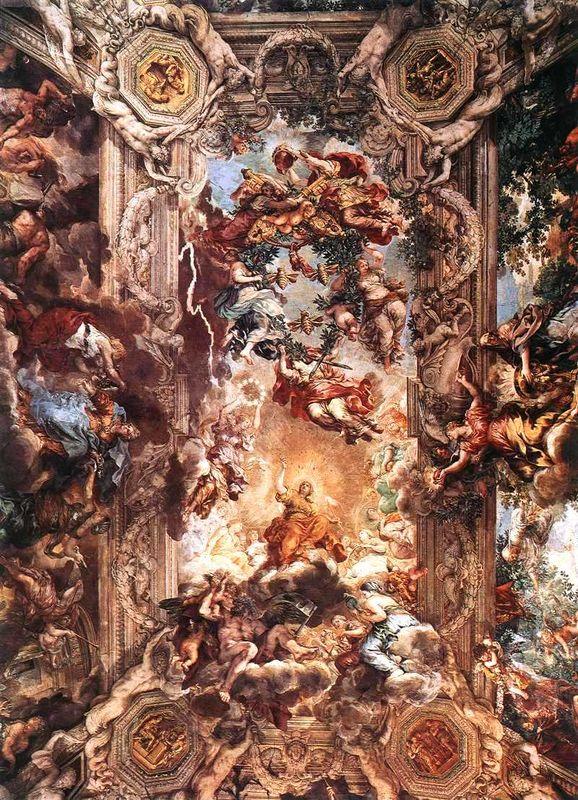 Triomphe de la Sagesse Divine, Pierre de Cortone