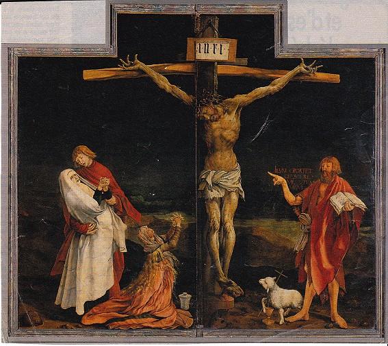 la Crucifixion grunewald