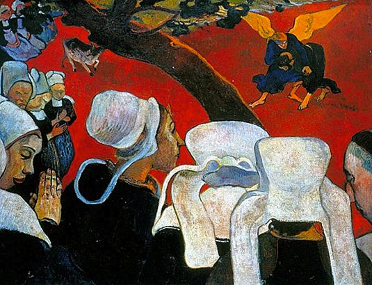 la vision après le sermon paul gauguin