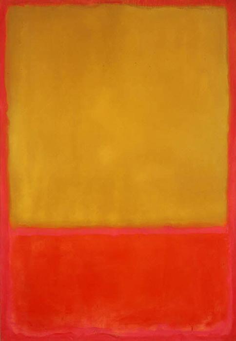 ocre et rouge sur rouge, Rothko