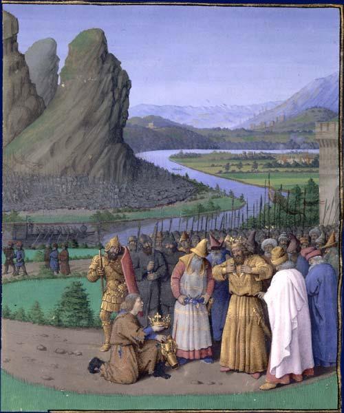 David et l'Amalécite, Fouquet