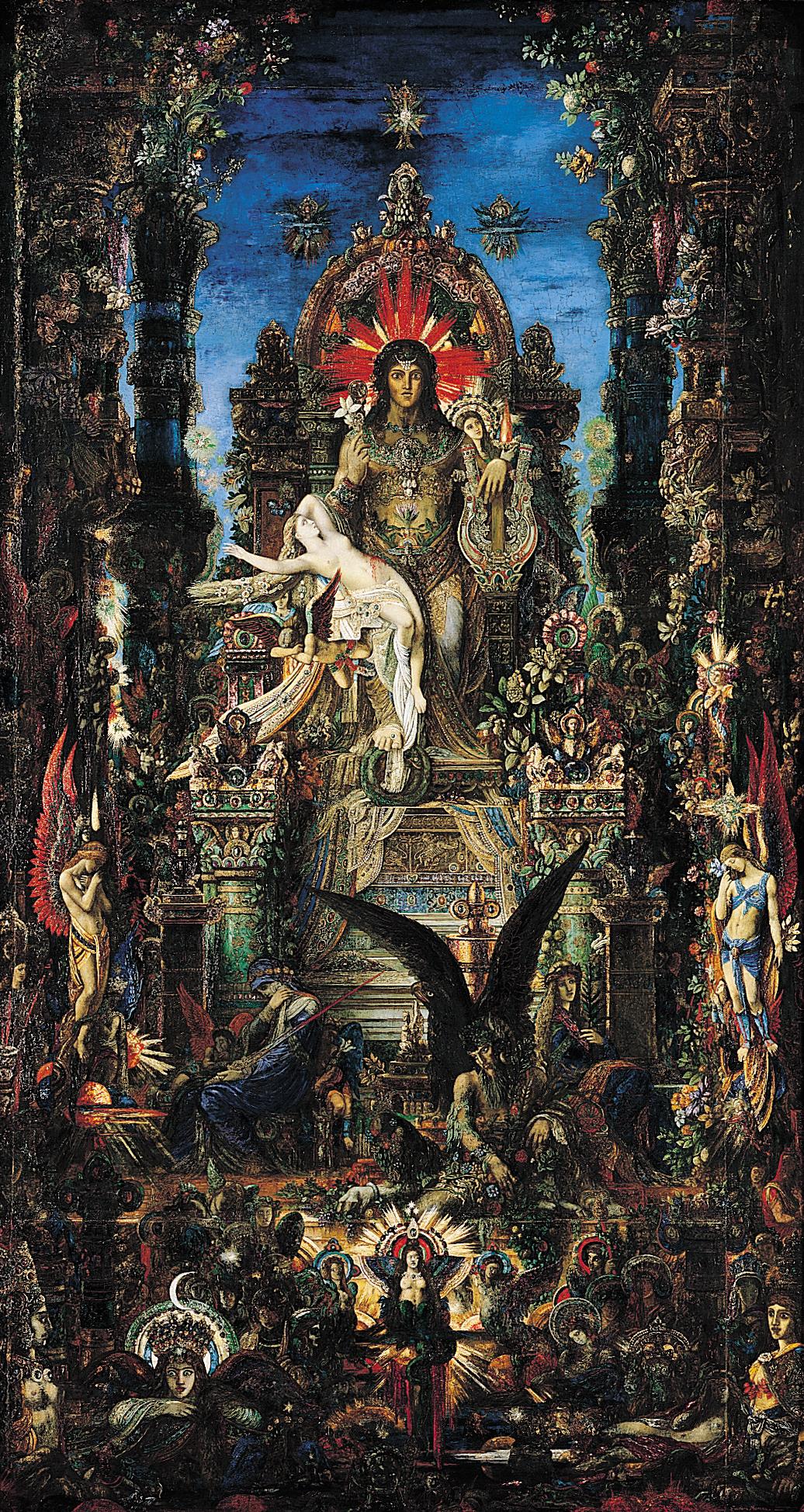 Jupiter et Sémélé, Moreau