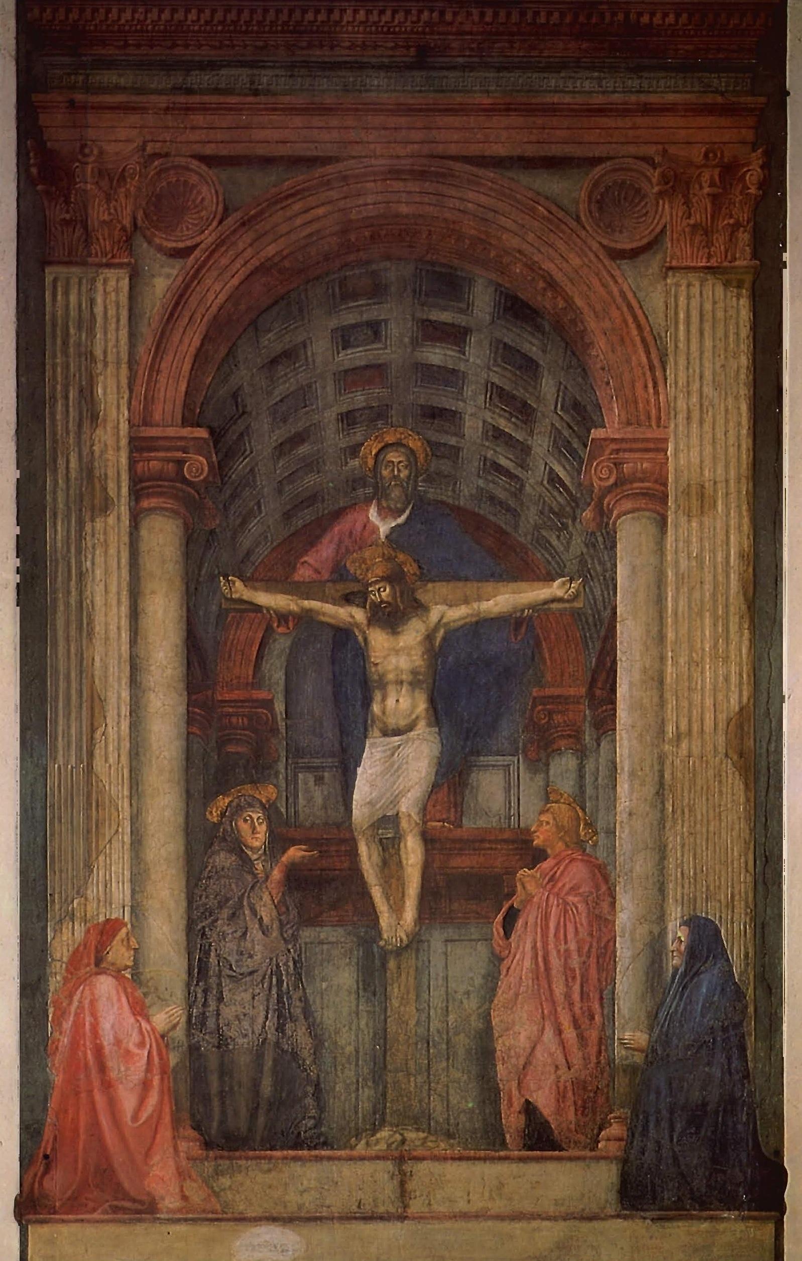 Trinité, Masaccio