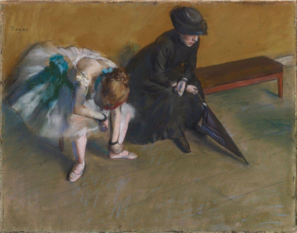 Attente, Degas