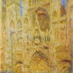Cathédrale de Rouen 5, Monet