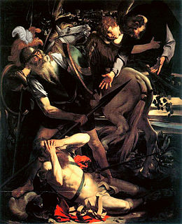 Conversion de Saint Paul, Caravage