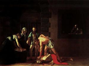 Décollation de saint Jean Baptiste, Caravage