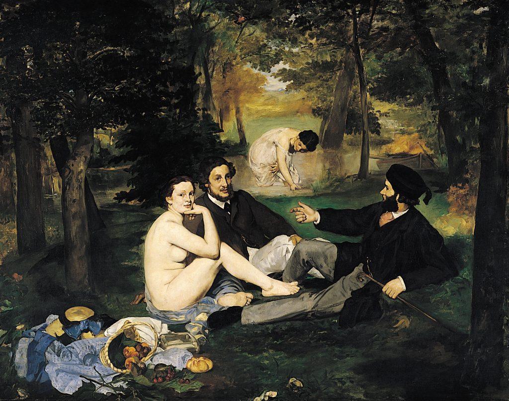 Déjeuner sur l'herbe, Manet