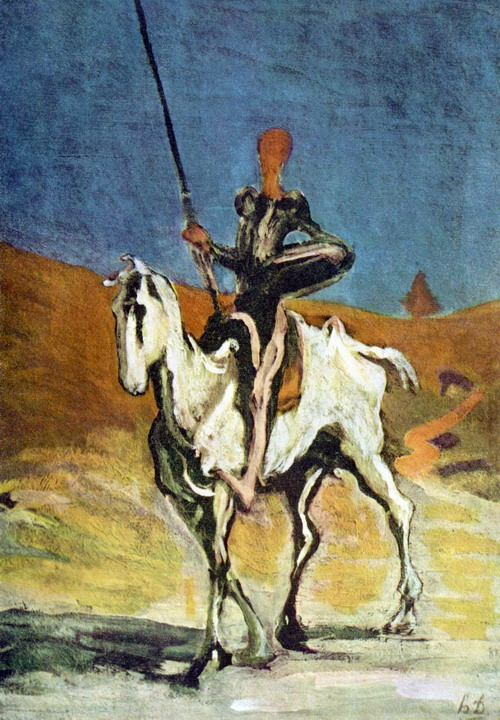 Don Quichotte, Daumier