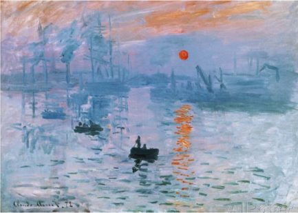 Impression, soleil levant, Monet