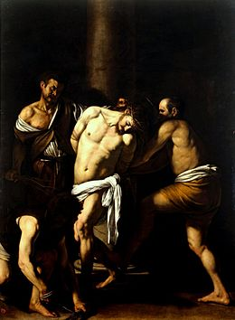 La flagellation du Christ, Caravage