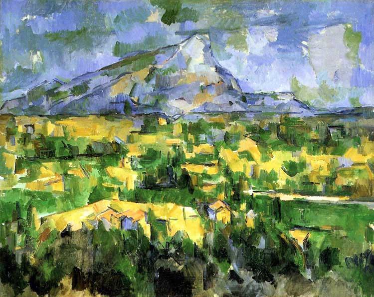 La montagne Sainte Victoire, Cézanne