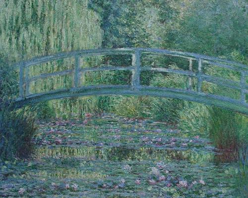 Le bassin aux nymphéas, Monet