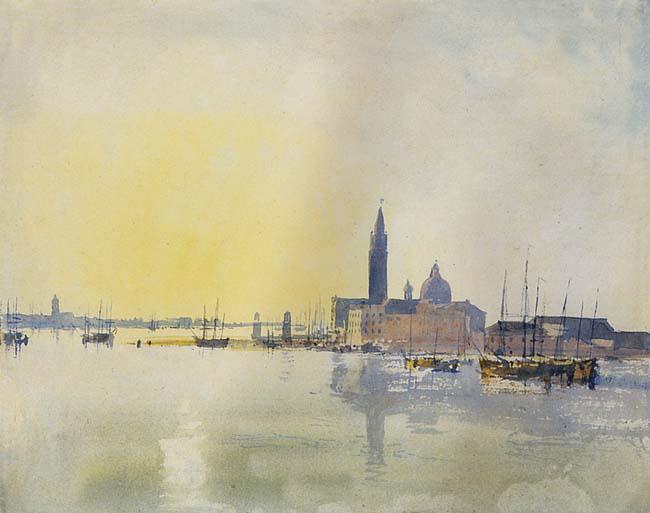 San Giorgio Maggiore au petit matin,Turner