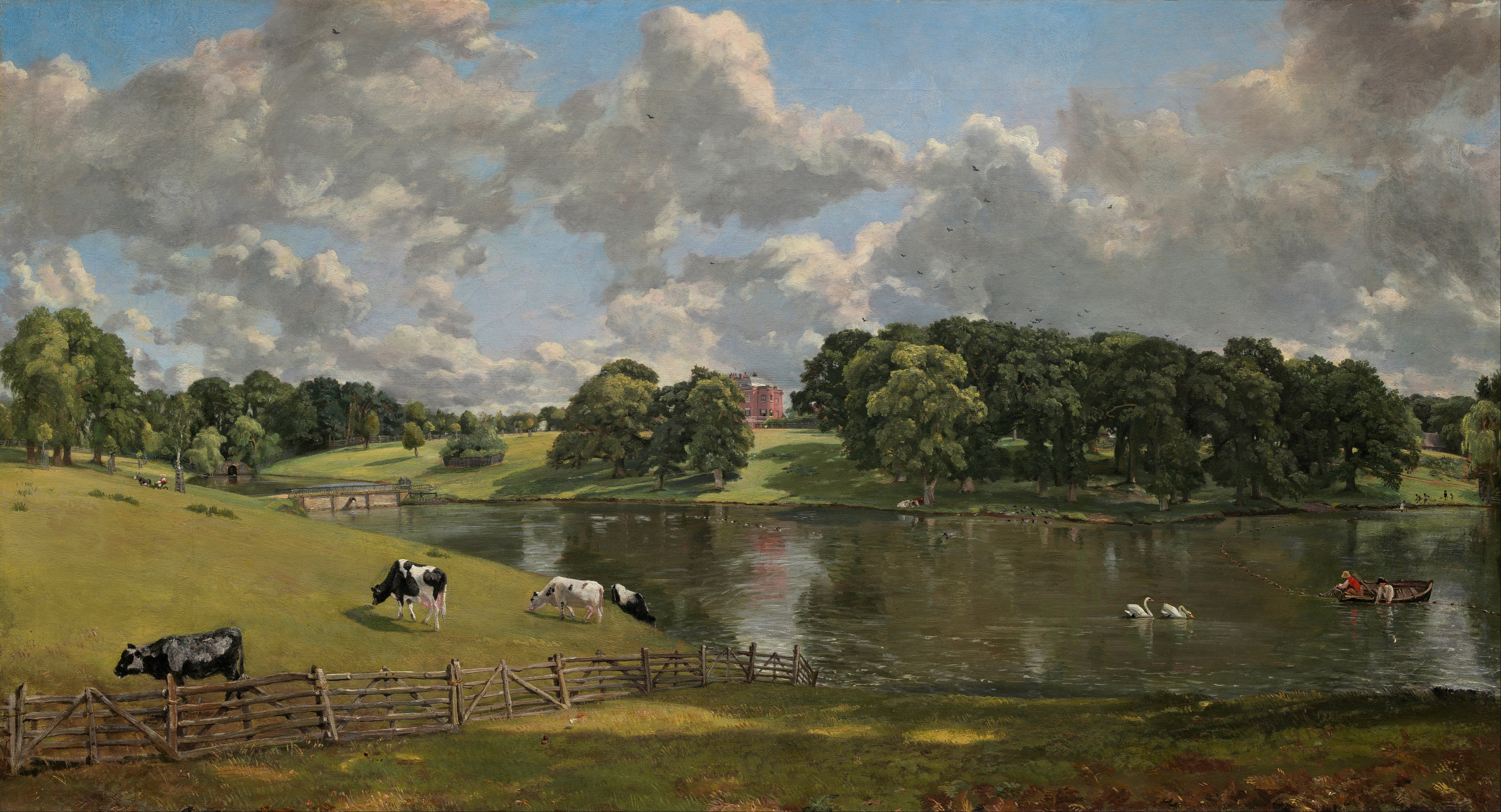 Wivenhoe Park, Constable