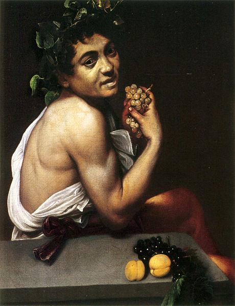 Bacchus malade, Caravage