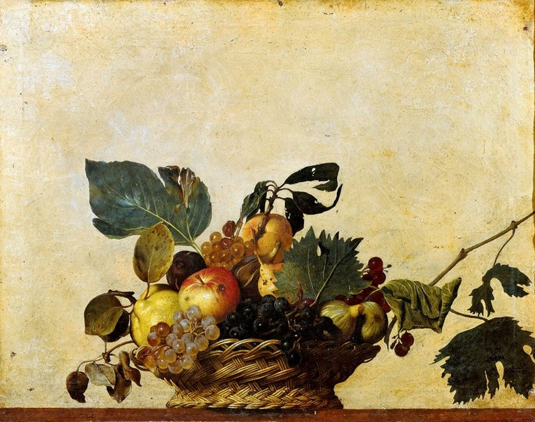 Corbeille de fruits, Caravage