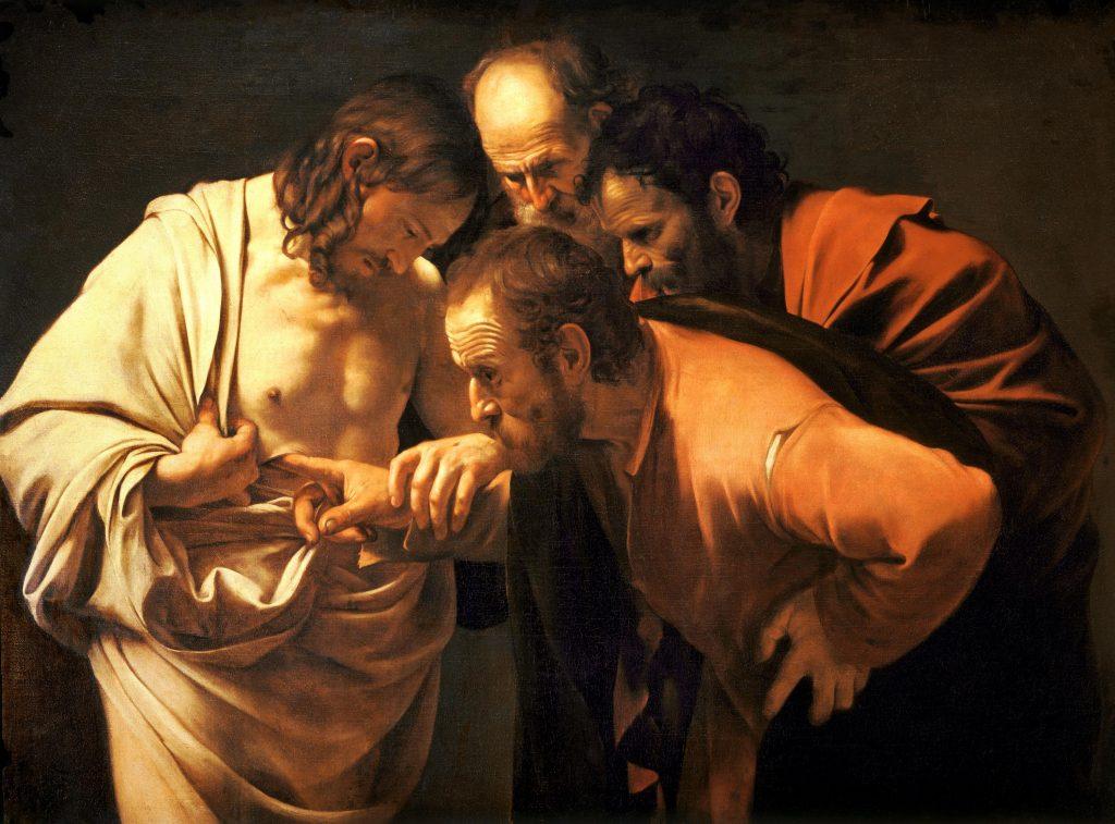 Incrédulité de saint Thomas, Caravage