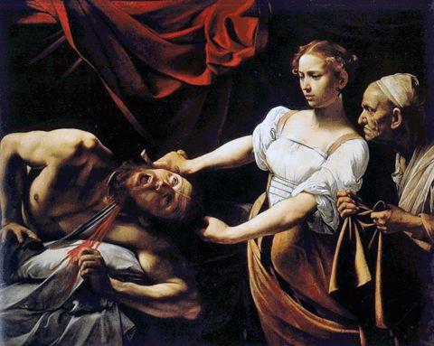 Judith décapitant Holopherne, Caravage