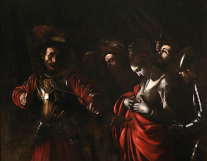 Martyre de Sainte Ursule, Caravage