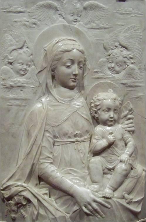 Vierge à l'enfant, Antonio Rossellino