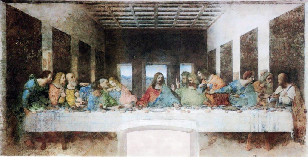 La Cène, Léonard de Vinci