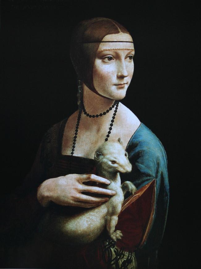 Dame à l hermine, Léonard de Vinci