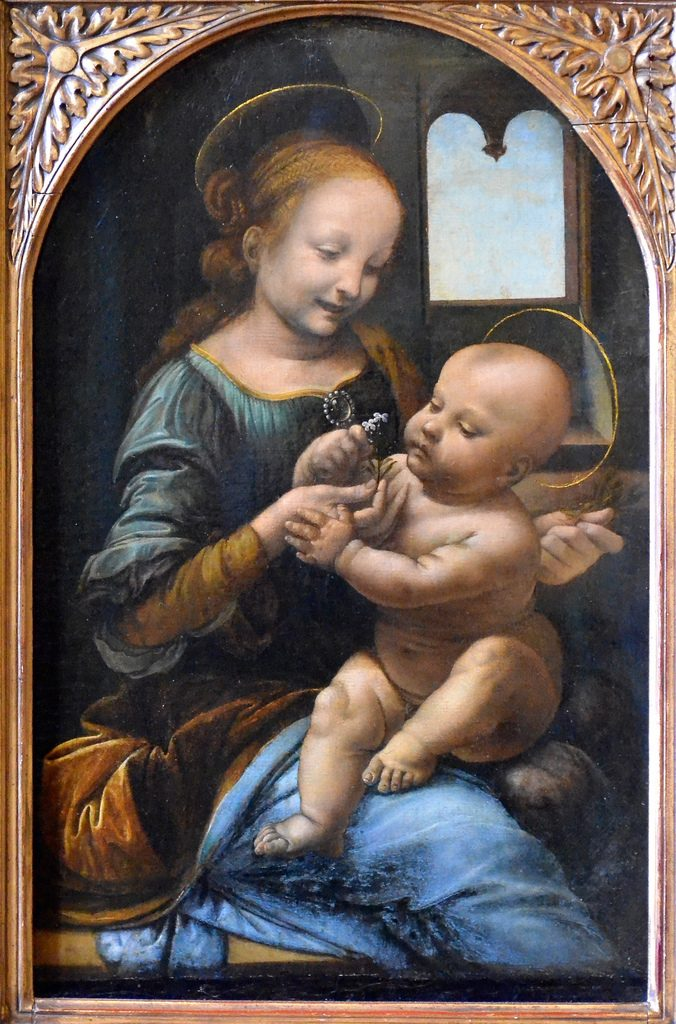 Madone Benois, Léonard de Vinci
